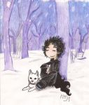Neil Gaiman by Foxlady85