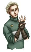 Draco from highschool lovers by Forbis