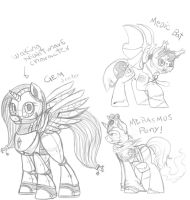 TF2 MLP: Sketches by Crystalchan2D