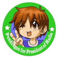 Pendragon for President by shido-burrito