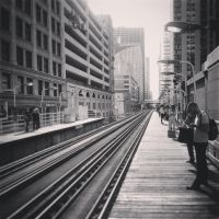 Waiting on Subway by marc-the-kid