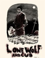 Lone Wolf And Cub by spicypeanut