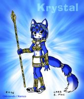 Krystal from Starfox by Lars99