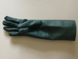 WIP Leather Glove by SkepticRaven