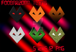 Foobar2000 icons by destroyerbam