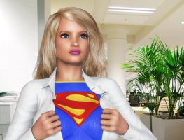 Another Mission For Supergirl by Roys-Art