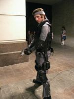 Youmacon 09 - Solid Snake by blackkittycat15