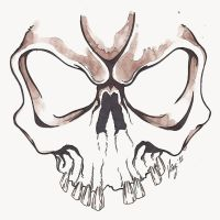 Sketck Skull by IncognosDESIGN