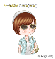 FANART- T-ARA N4 Eunjung today going to USA by PuIPuI-457