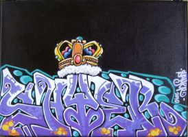 Sayer with king crown by ecce-one