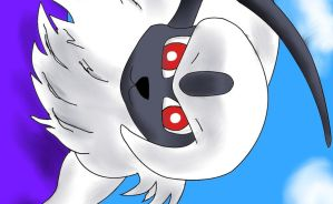 Cool Looking Absol by YoshiGamerGirl