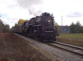Photo of Train Engine 1225 used for Polar Express by SailorEnergy