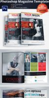 Multipurpose Magazine Template (Photoshop PSD) by Ruthgschultz