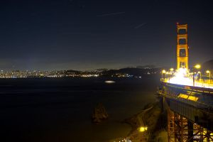 Night time in SF by Doogle510