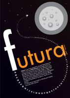 Futura typeface by gendosplace