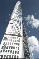 Turning Torso by bazze