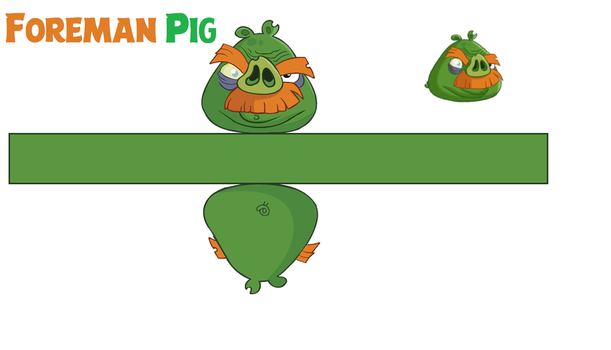 Foreman Pig Toons Templates by bluejay5678