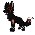 5 point wolf adopt 9 Closed by Evertooth