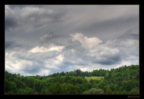 Storm Clouds coming by RRVISTAS