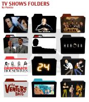 Tv Shows Folders Pack Two by Cyrus-Pinkney