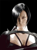 Charlize Theron in Aeon Flux by Reve-d-etoile