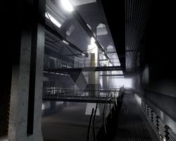 The Prison - Concept 03 by damagefilter