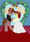 The Marriage of Petri Parker and Marey Jane by edCOM02
