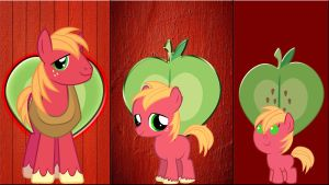 3 Big Macintosh's by Macgrubor