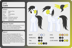 OC Sheet-Gale by outlaw4rc