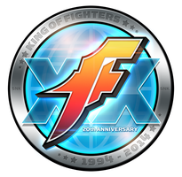 King of Fighters 20th Anniversary Logo by SuperEdco