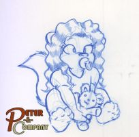 Sketch: Baby Whitney by PeterAndCompany