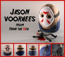 Jason Voorhees Plushie by Saint-Angel