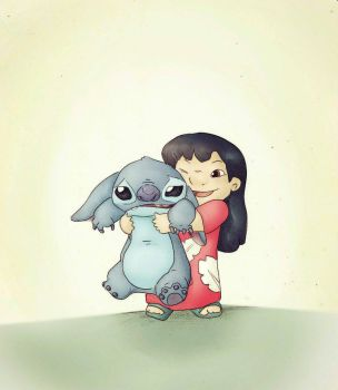 Lilo and Stitch by Friendermen