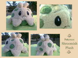 Shroomish Plush by methuselah-alchemist