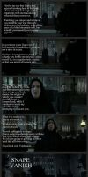 SNAPE ~ Screw You Guys I'm Going Home by Juliabohemian