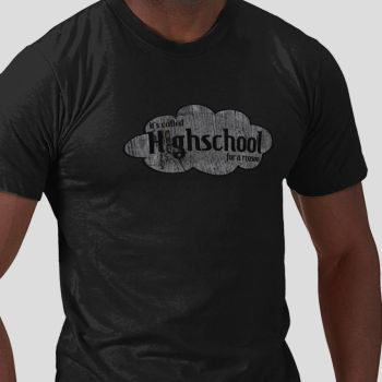 It's called highschool for a reason by RetroHeroesClothing