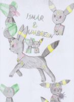 Ismar and his Umbreon by gibina4ever