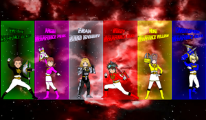 DigiFusion SM Megaforce Weapons for Asrockrpg by rangeranime