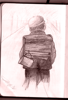 Sketch of Photograph 1m Away by Ndpd87