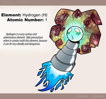 Hydrogen [H] by Reptonic