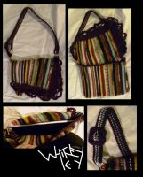 Fancy Stripped Satchel by Merlend