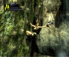 Lara on the mountain by Chriss2010