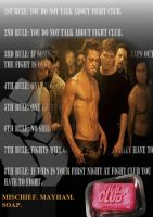 DvD Cover 1 - Fight Club by Timeothy333