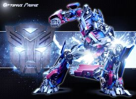 Optimus Prime by Zahrah