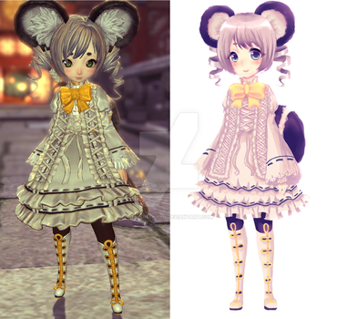 My Blade and Soul character by Shiroisennyu