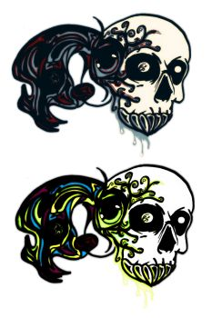 Skull explosion (let your comment) by Nodrixian