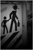 Stop..Punk Crossing by Pencil4artists