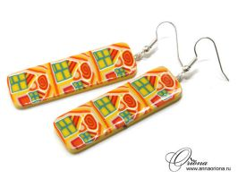 Solar houses by OrionaJewelry