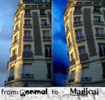 From normal to magical by alekzis