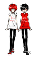 SEKE shirts by xKirara